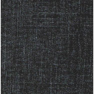 Výplněk elastický černý potisk Jeans denim