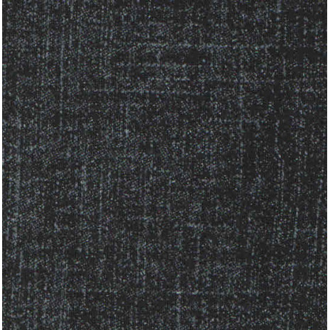 Teplákovina černá potisk Jeans denim