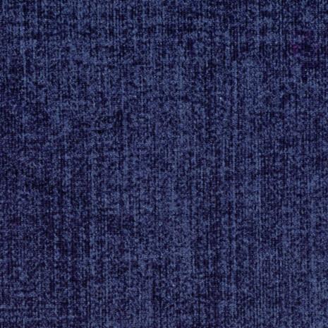 Teplákovina tm.modrá potisk Jeans denim, rub POČES