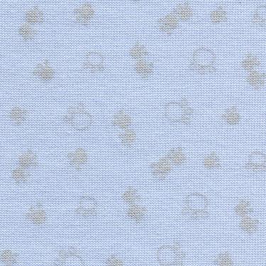 Finerib Baby modrý 0105691 tisk šedivé tlapičky