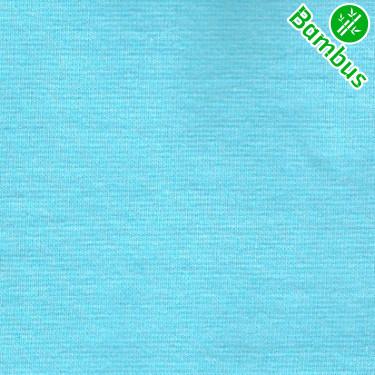Jednolíc elastický TENCEL 96% + 4%Creora aqua tyrkys