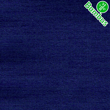 Jednolíc elastický BAMBUS Vis./Lycra 8% navy tmavě modrá SES03