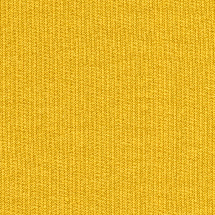 Jednolíc elastický BAMBUS vis./4%Lycra šafrán žlutá 359
