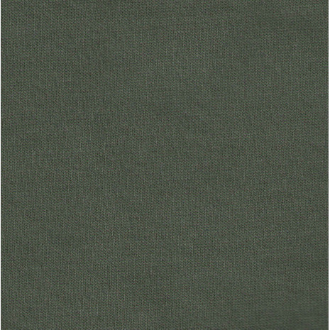 Termo froté khaki zelené (Bavlna hladký líc, smyčky POČESANÉ rub funkční POP)