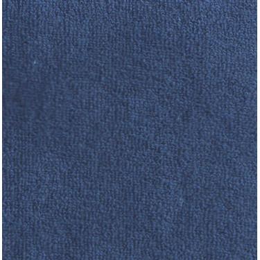 Froté prostěradlo dvoulůžko 180x200 tmavší modré 343