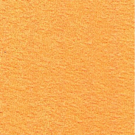 Froté prostěradlo dvoulůžko 180x200 medově oranžové