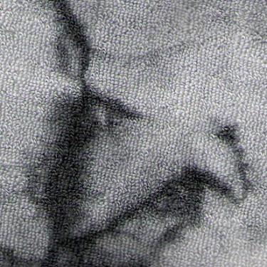 Froté prostěradlo atyp 180x220 batika šedo-černá