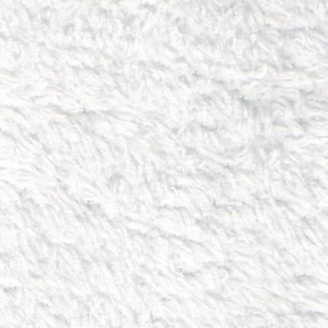 Deka - chlupatý coral fleece - 170x200cm - bílá