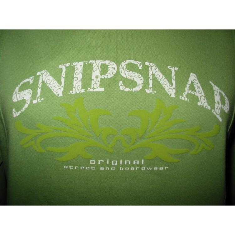 Dámská mikina SnipSnap sv.zelená