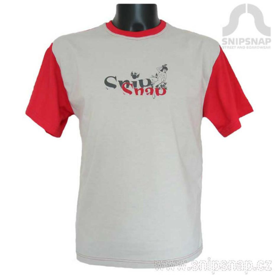 Pánské tričko SnipSnap- krátký rukáv