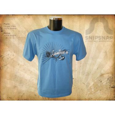 Pánské tričko SnipSnap - modré