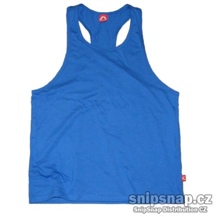 Pánské sportovní tílko - středně modrá