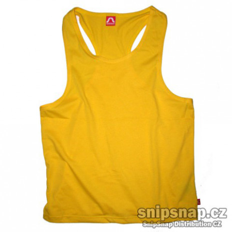 Pánské sportovní tílko žluté
