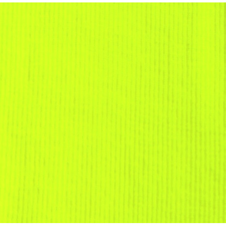Patent žebro 100%PES neon žlutý