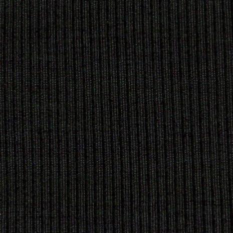 Patent žebro 100%PES černý, 380gr