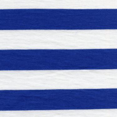 Jednolíc proužek 1,3cm bílo-stř.modrý