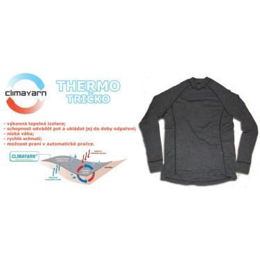 Pánské termo tričko dl.r. Climayarn antracit