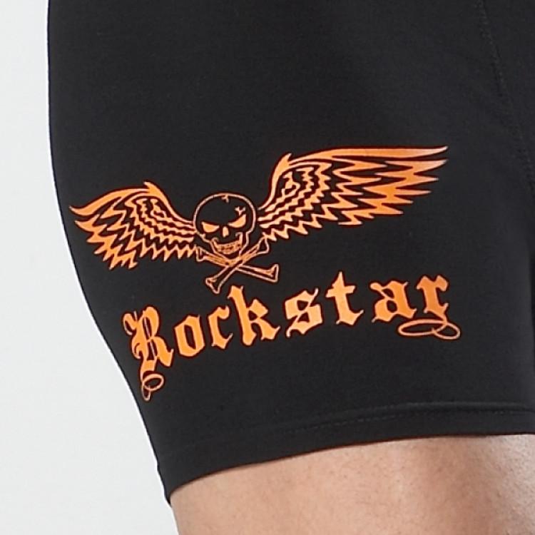 Pánské boxerky REMIXX Rock Star orange vel.M